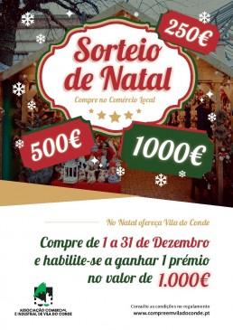 Sorteio de Natal Associação Comercial e Industrial de Vila do Conde